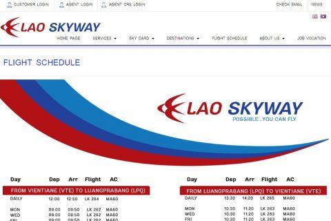 「Lao Skyway」のオフィスがパクセーの街中にもオープン